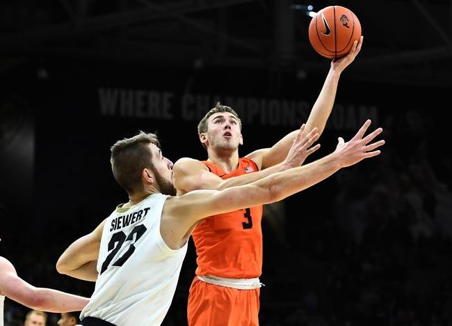 NCAA BB | Oregon at Oregon State