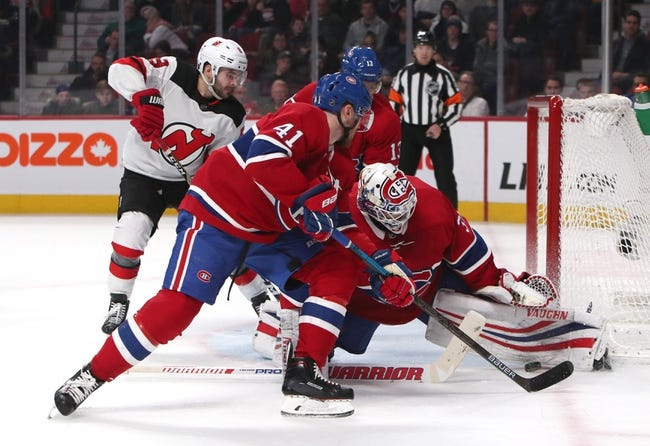 NHL | Montreal Canadiens at New Jersey Devils