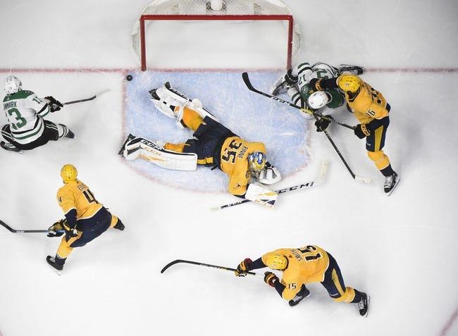 NHL   Dallas Stars at Nashville Predators