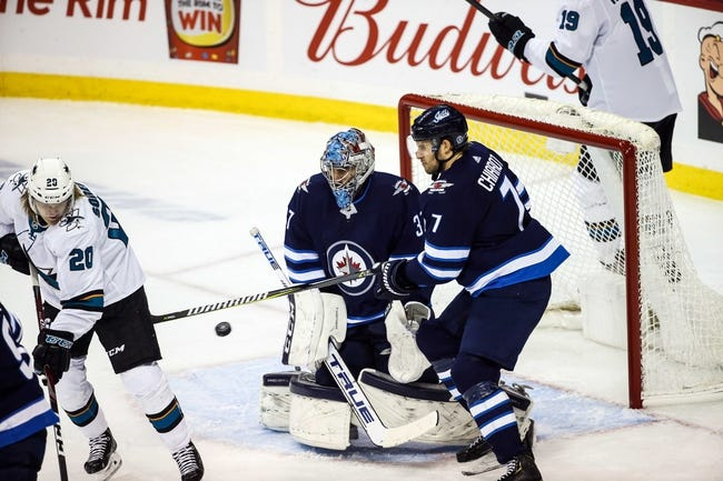 NHL | San Jose Sharks at Winnipeg Jets