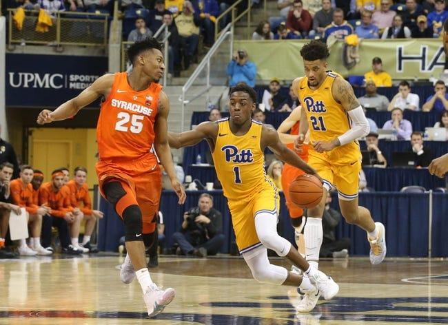 NCAA BB   Pittsburgh vs. Syracuse