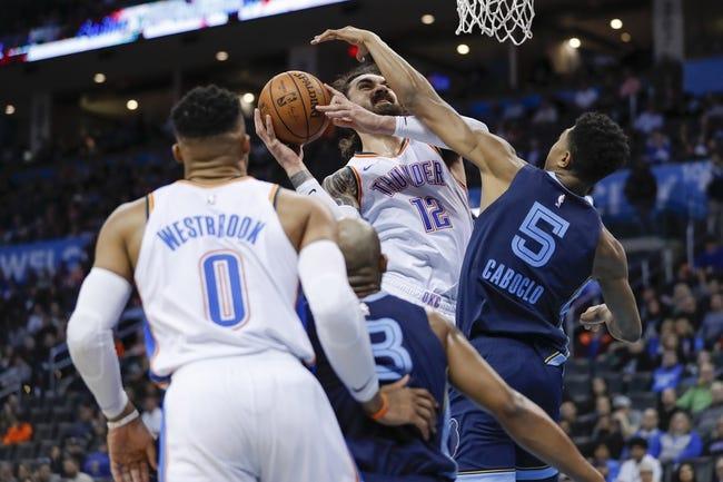 NBA   Memphis Grizzlies at Oklahoma City Thunder
