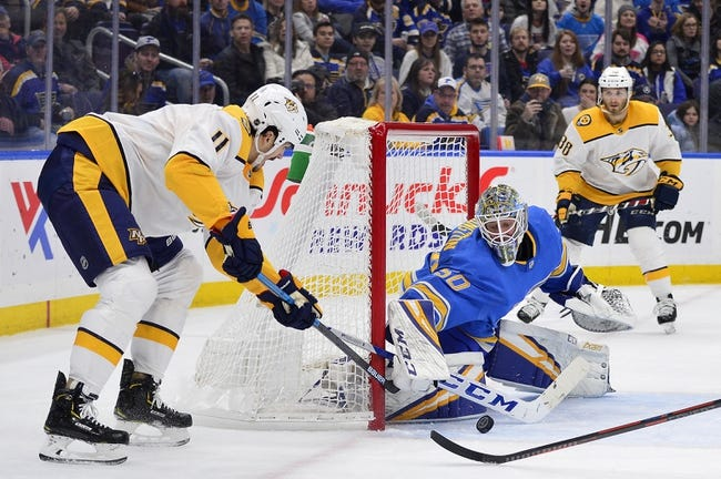 NHL | St. Louis Blues at Nashville Predators