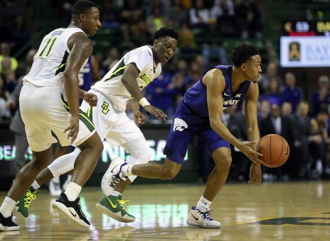NCAA BB | Baylor at Kansas State