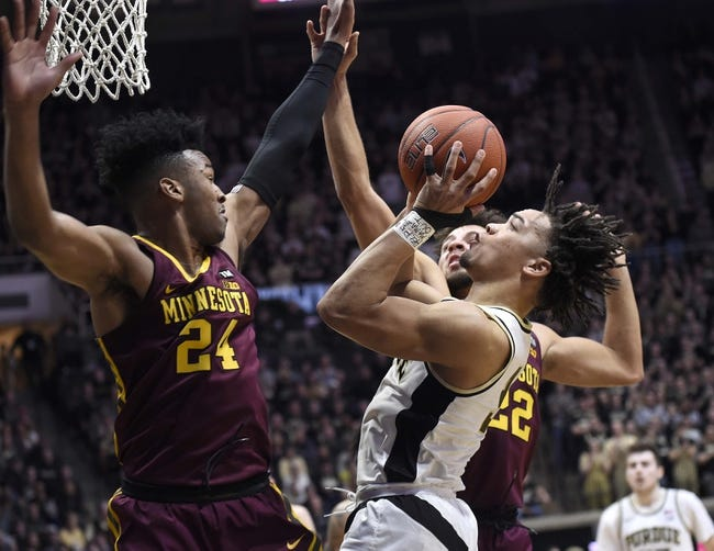 NCAA BB   Purdue at Minnesota