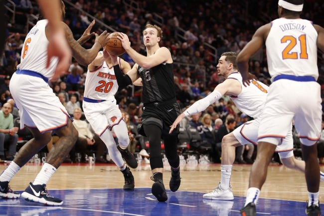 NBA | Detroit Pistons at New York Knicks