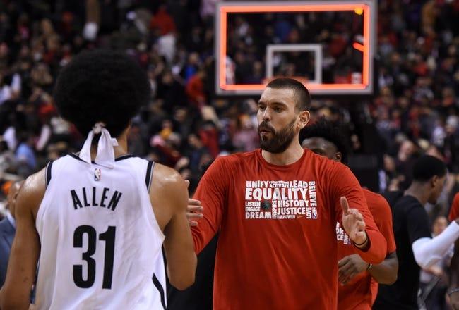 NBA | Toronto Raptors at Brooklyn Nets