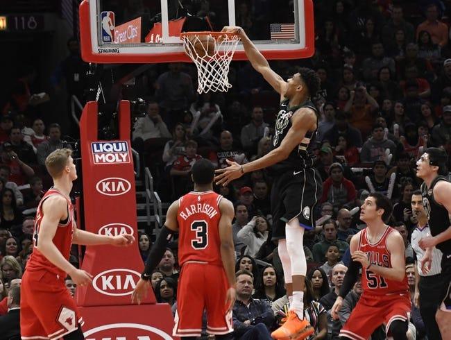 NBA | Milwaukee Bucks at Chicago Bulls