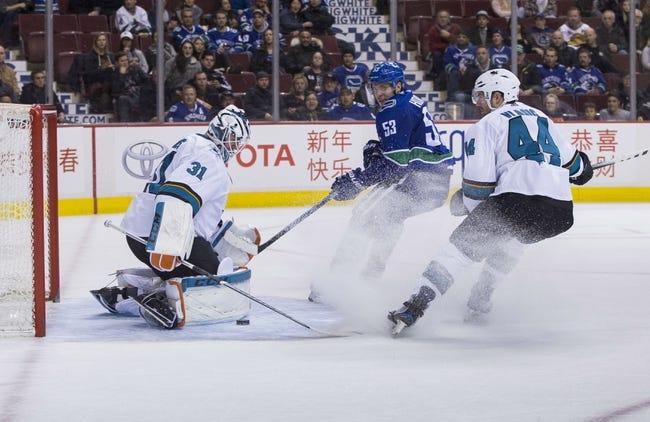 NHL | Vancouver Canucks at San Jose Sharks