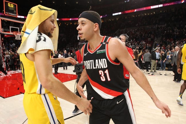 NBA | Portland Trail Blazers at Golden State Warriors