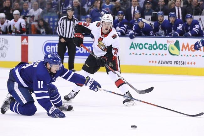NHL | Toronto Maple Leafs at Ottawa Senators