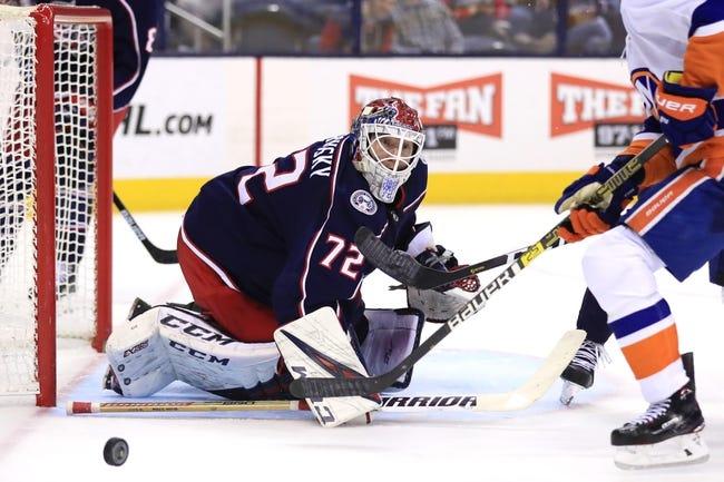 NHL   Columbus Blue Jackets at New York Islanders