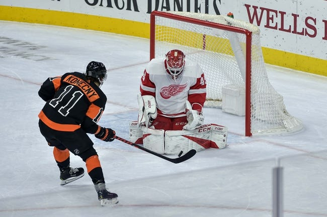 NHL | Philadelphia Flyers at Detroit Red Wings