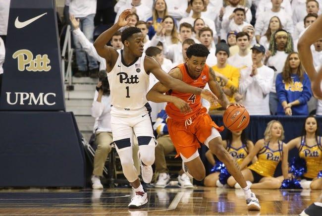 NCAA BB   Pittsburgh at Virginia