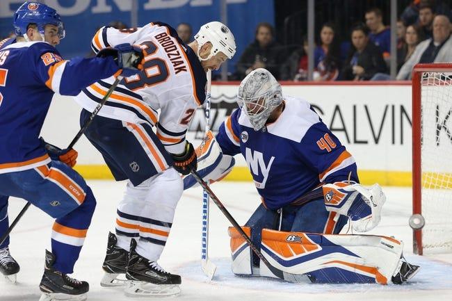 NHL | New York Islanders at Edmonton Oilers