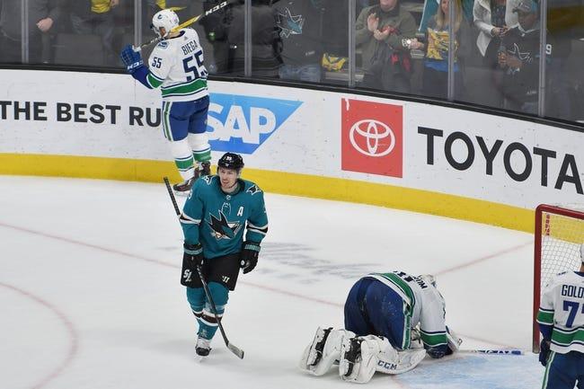 NHL | San Jose Sharks at Vancouver Canucks