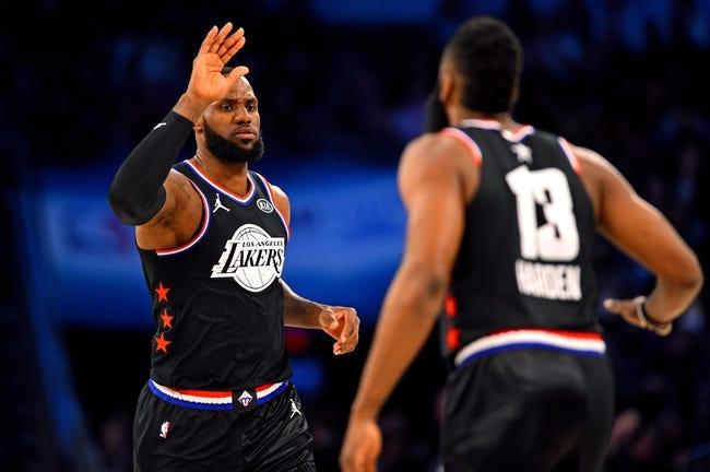 NBA | Houston Rockets at L.A. Lakers