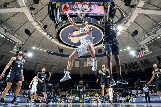 NCAA BB | Virginia Tech at Notre Dame