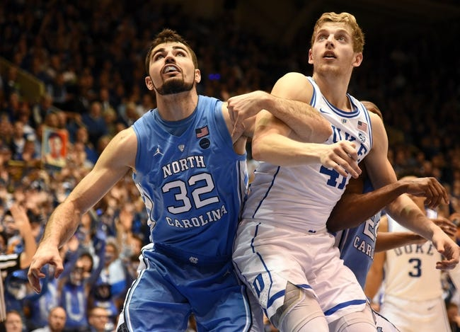 NCAA BB | Duke at North Carolina