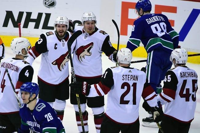 NHL   Vancouver Canucks at Arizona Coyotes