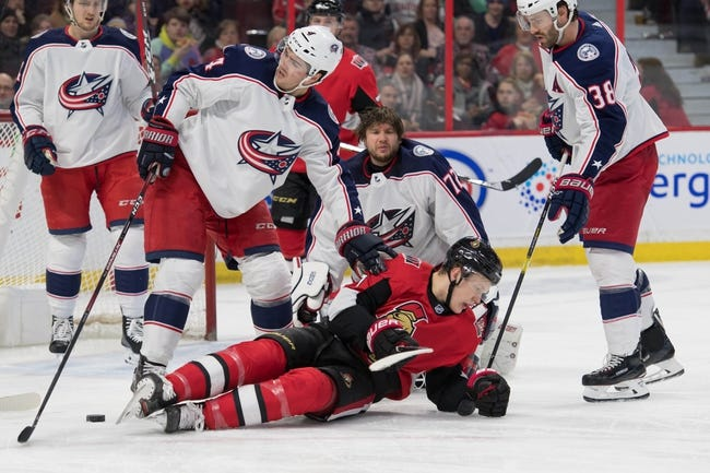 NHL | Columbus Blue Jackets at Ottawa Senators