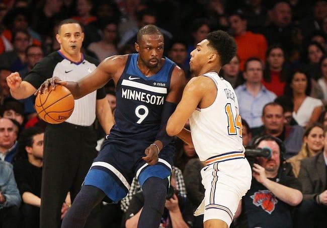 NBA | New York Knicks at Minnesota Timberwolves
