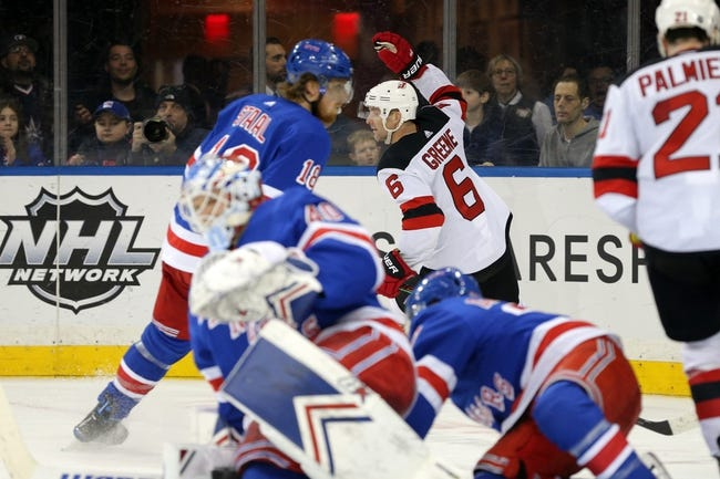 NHL | New Jersey Devils at New York Rangers