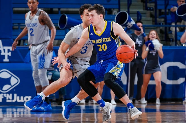 NCAA BB | San Jose State at Air Force