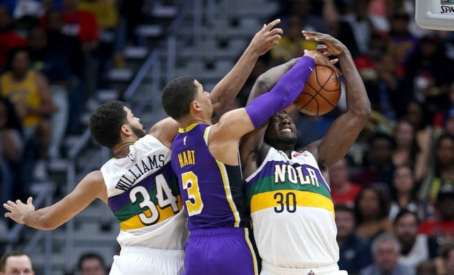 NBA | New Orleans Pelicans at L.A. Lakers