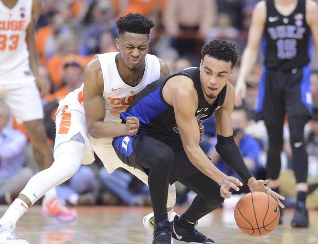NCAA BB | Syracuse vs. Duke