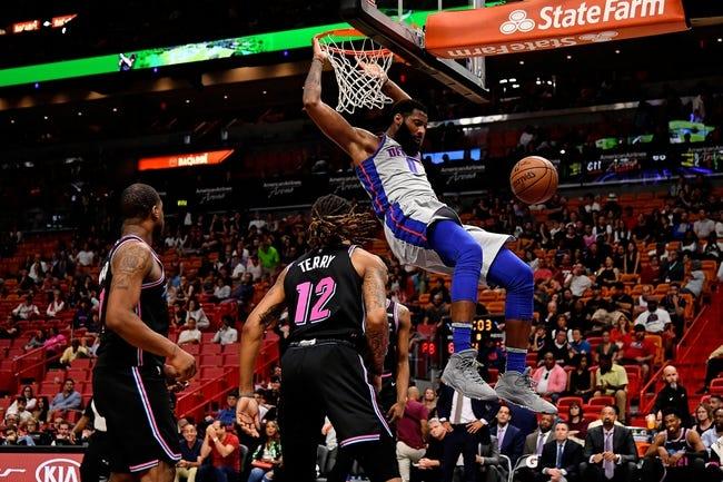 NBA | Detroit Pistons at Miami Heat