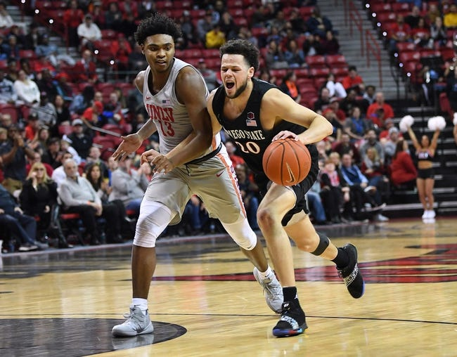 NCAA BB | San Diego State at Utah State