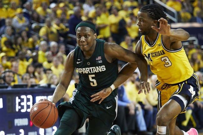 NCAA BB | Michigan at Michigan State