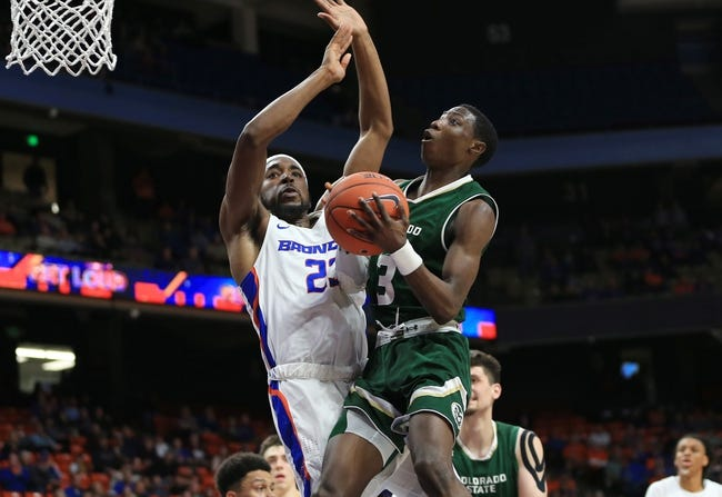 NCAA BB | Colorado State at Boise State