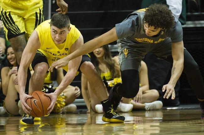 NCAA BB   Arizona State vs. Oregon