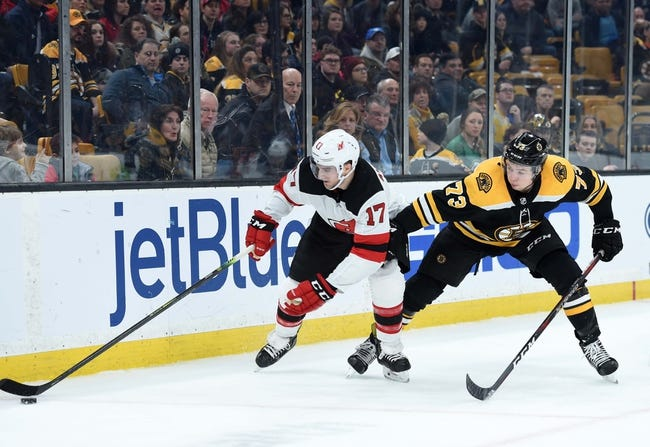 New Jersey Devils vs. Boston Bruins - 3 21 19 NHL Pick 4a9916929