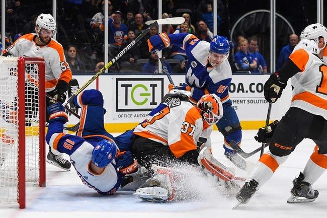NHL | Philadelphia Flyers at New York Islanders