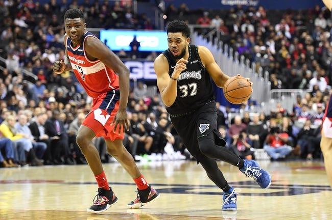 NBA | Washington Wizards at Minnesota Timberwolves