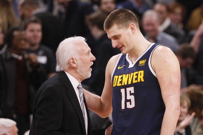 NBA | San Antonio Spurs at Denver Nuggets