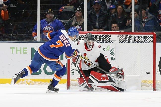 NHL   New York Islanders at Ottawa Senators