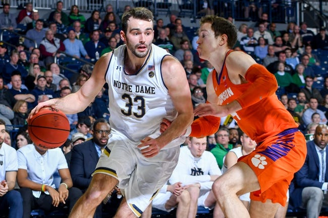 NCAA BB | Notre Dame at Pittsburgh