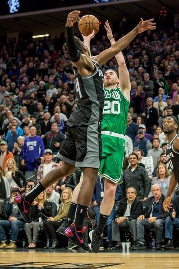 NBA   Sacramento Kings at Boston Celtics