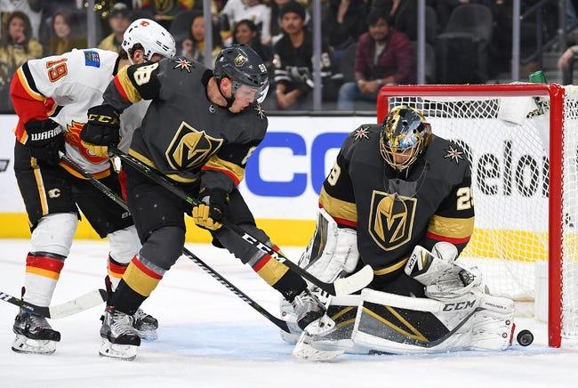 NHL | Vegas Golden Knights at Calgary Flames