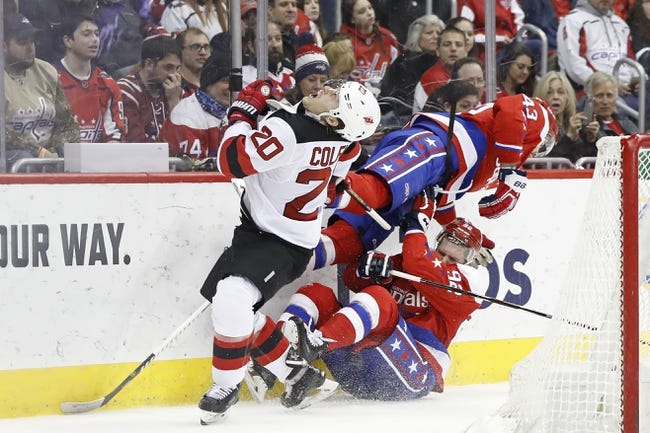 New Jersey Devils vs. Washington Capitals - 3 19 19 NHL Pick 14a6e45ca