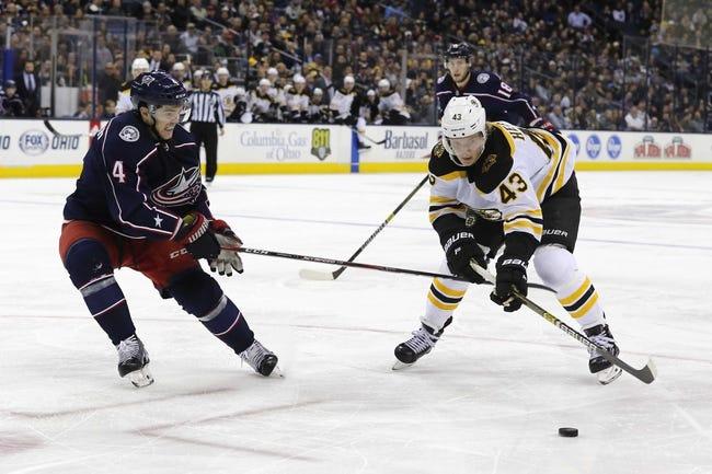 NHL | Columbus Blue Jackets at Boston Bruins