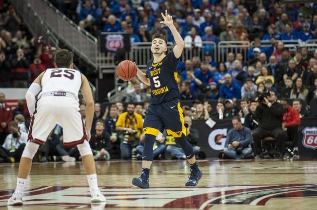 NCAA BB | West Virginia at Kansas