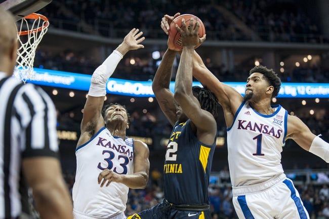 NCAA BB | Iowa State at Kansas