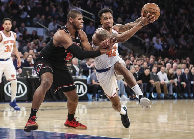 NBA | New York Knicks at Chicago Bulls
