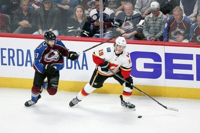 NHL | Colorado Avalanche at Calgary Flames