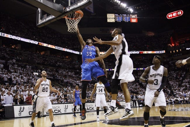 San Antonio Spurs vs. Oklahoma City Thunder - 5/29/14
